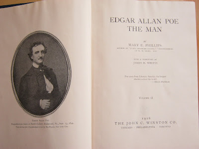 Mary E Phillips Edgar Allan Poe the Man