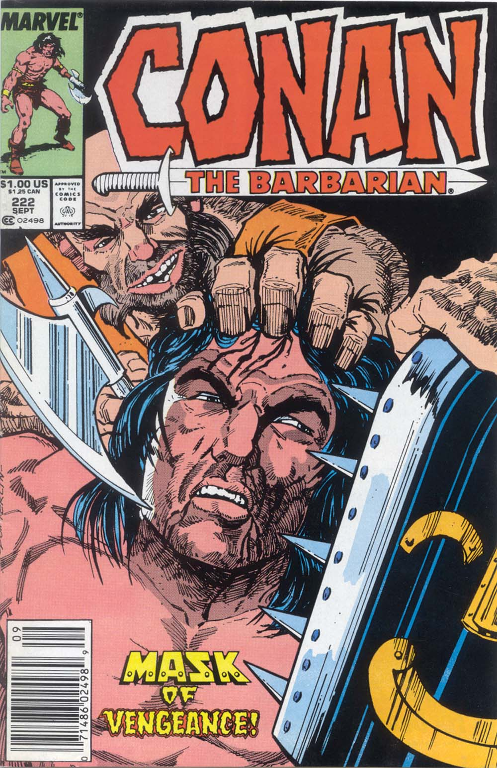 Conan the Barbarian (1970) Issue #222 #234 - English 1