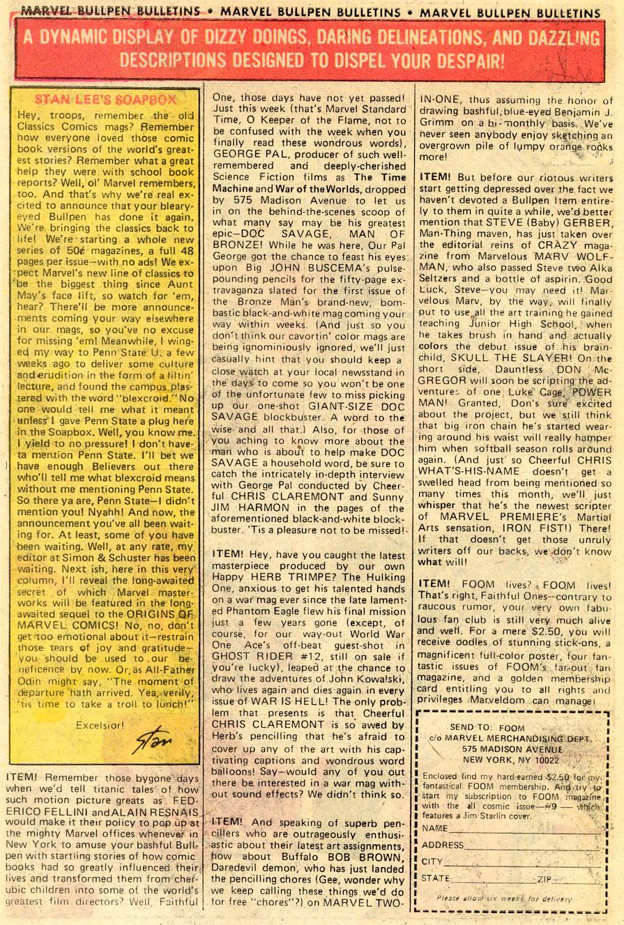 Conan the Barbarian (1970) Issue #52 #64 - English 20
