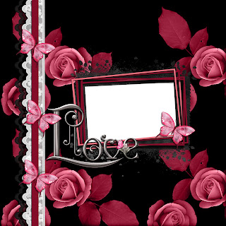 Rose Love Digital Scrapbooking Quickpage