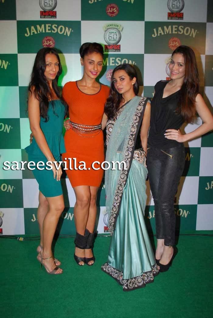 Shamita Singha, Mahek Chahal, Ira Dubey and Waluscha-Robinson