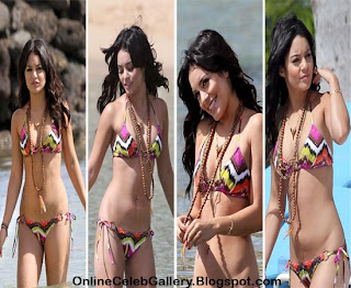 Vanessa Hudgens Bikini Photos, Hollywood Starlet Bikini Photos
