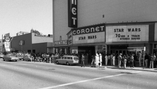Star Wars Opens At The Coronet Theatre In San Francisco