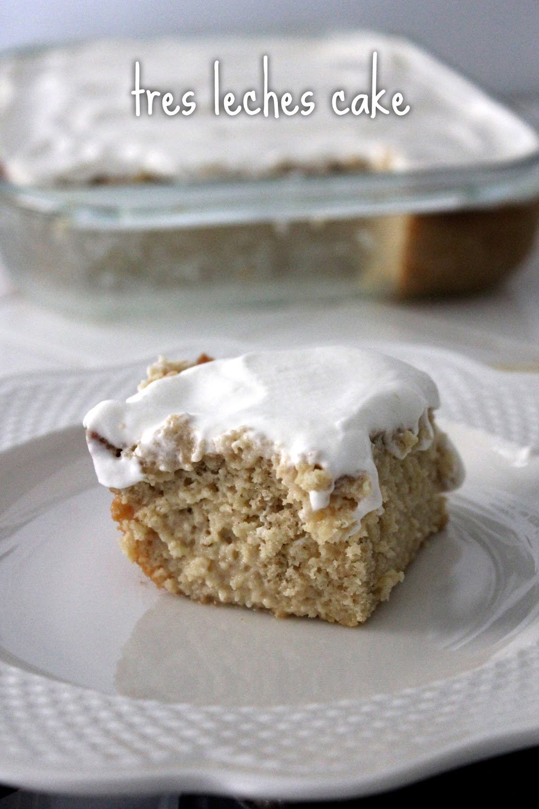 Tres Leches Cake by freshfromthe.com