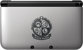 mario 3ds xl image 2 China   Mario Themed 3DS XLs Announced