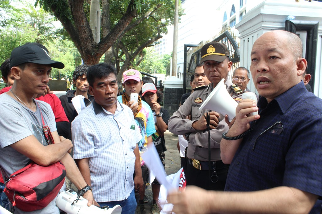 """Aliansi Penyelamat Sumut Pertanyakan Terdakwa Ramadhan Pohan """" Kenapa Tidak Ditahan"""""""