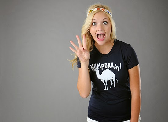 Babes in Funny T-Shirts