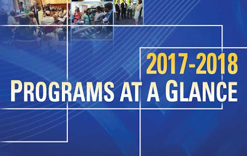 CPSC Programs F.Y. 2017-2018