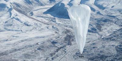 Google Loon : accéder à internet via des ballons gonflables