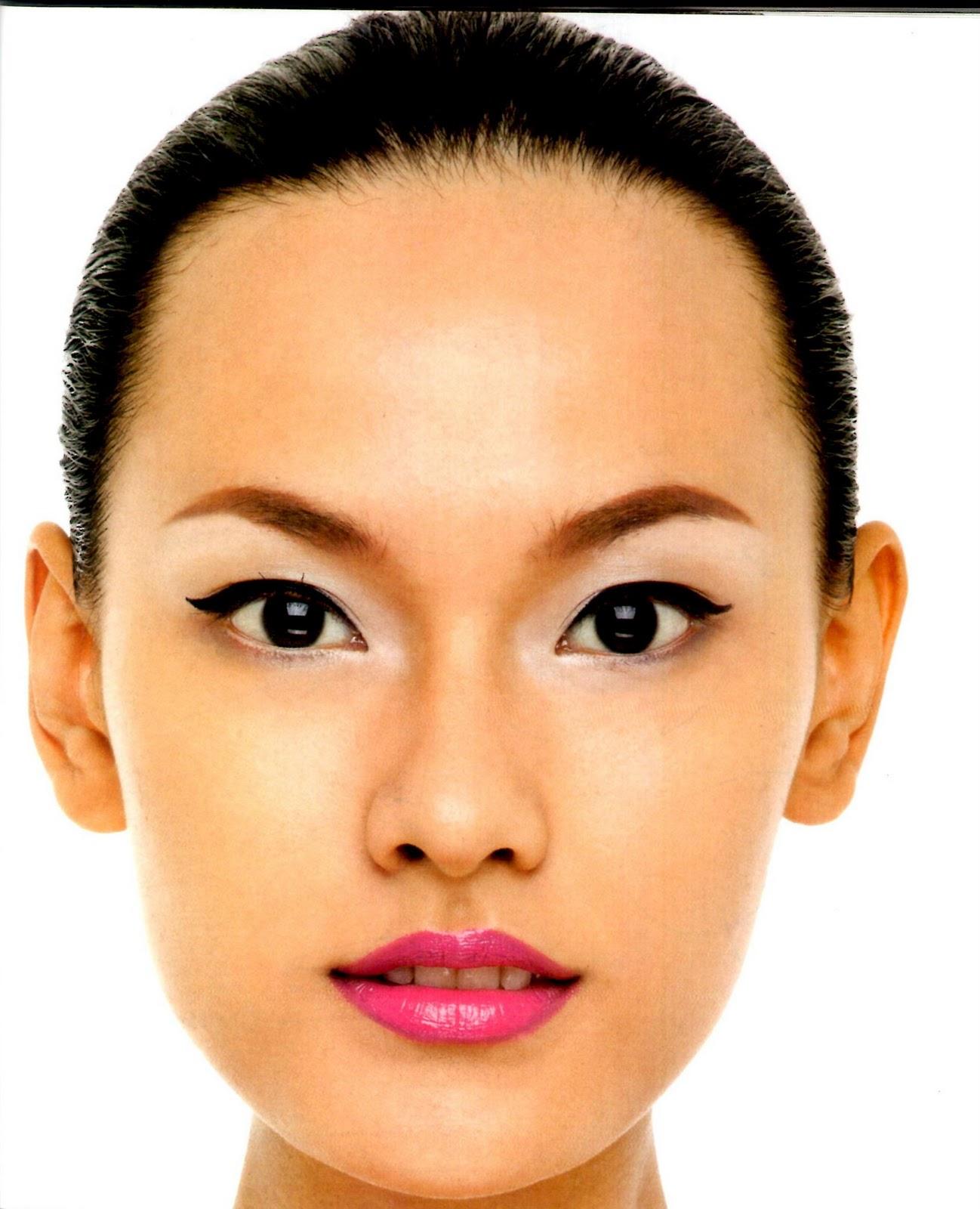 ... Tips : Cara merias wajah yang sempurna sesuai dengan bentuk muka kita