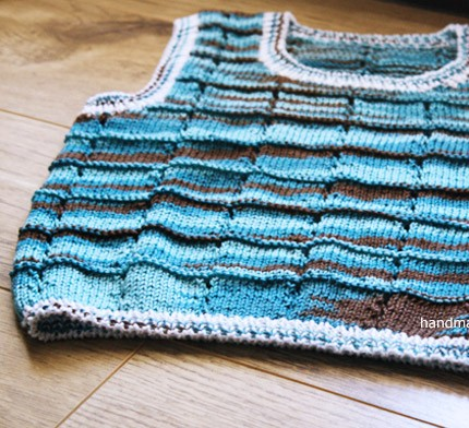 Toddler Vest Knitting Pattern