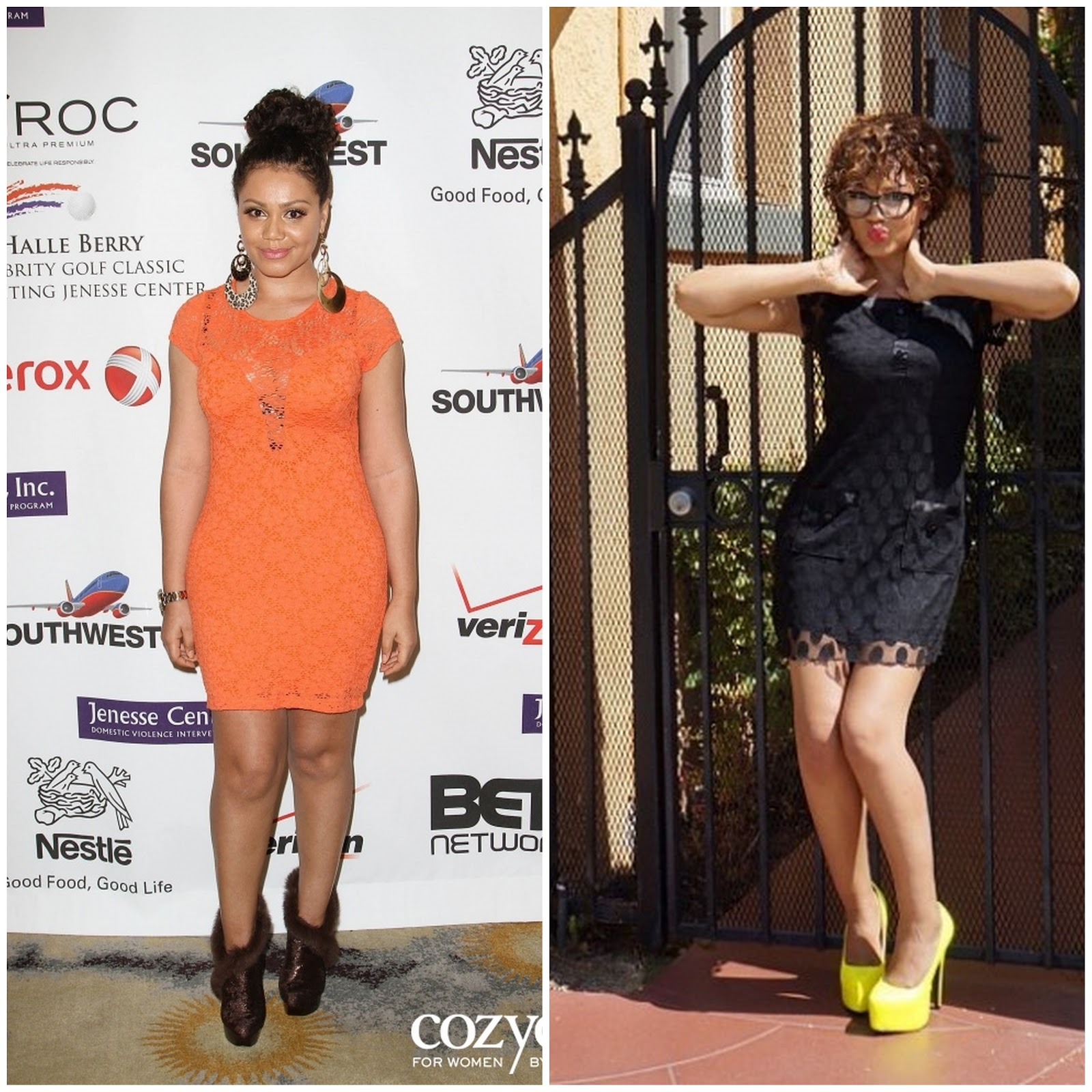 Lola Monroe Hairstyles Nadia buari shows off fab body