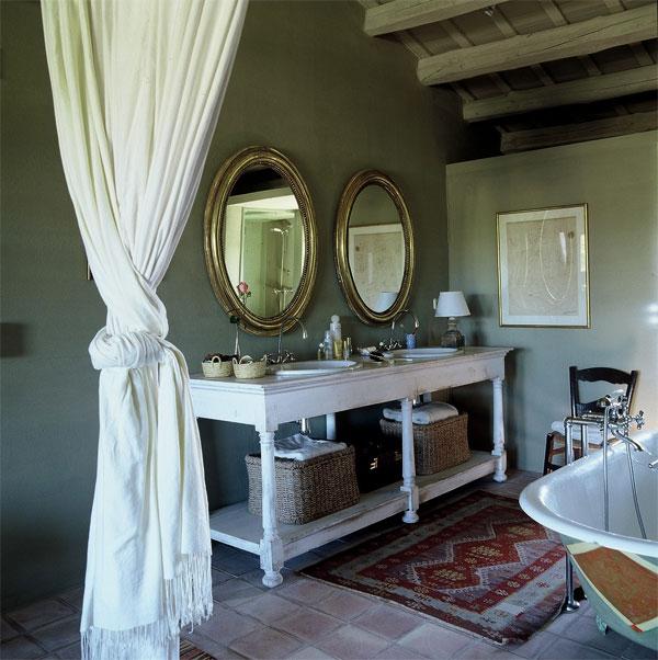 muebles vintage para el lavabo