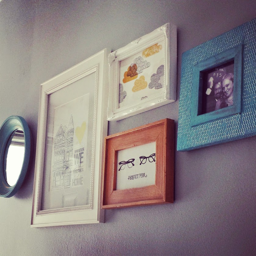 Frame Grouping :: foxwithglasses.blogspot.com :: #100dayshappy Challenge