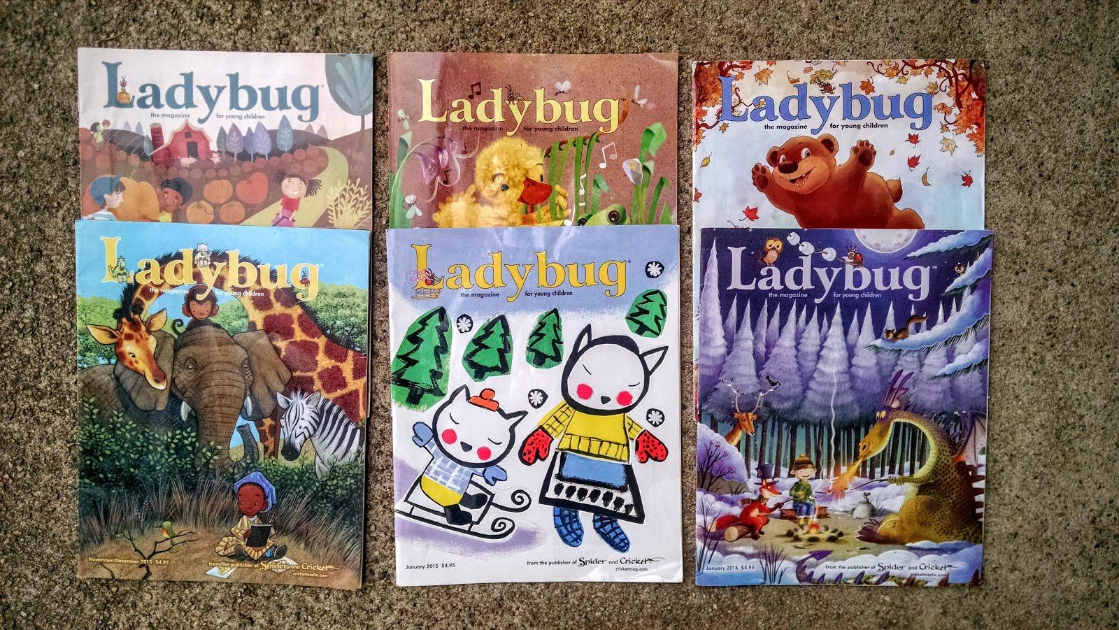Everead: Ladybug Magazine