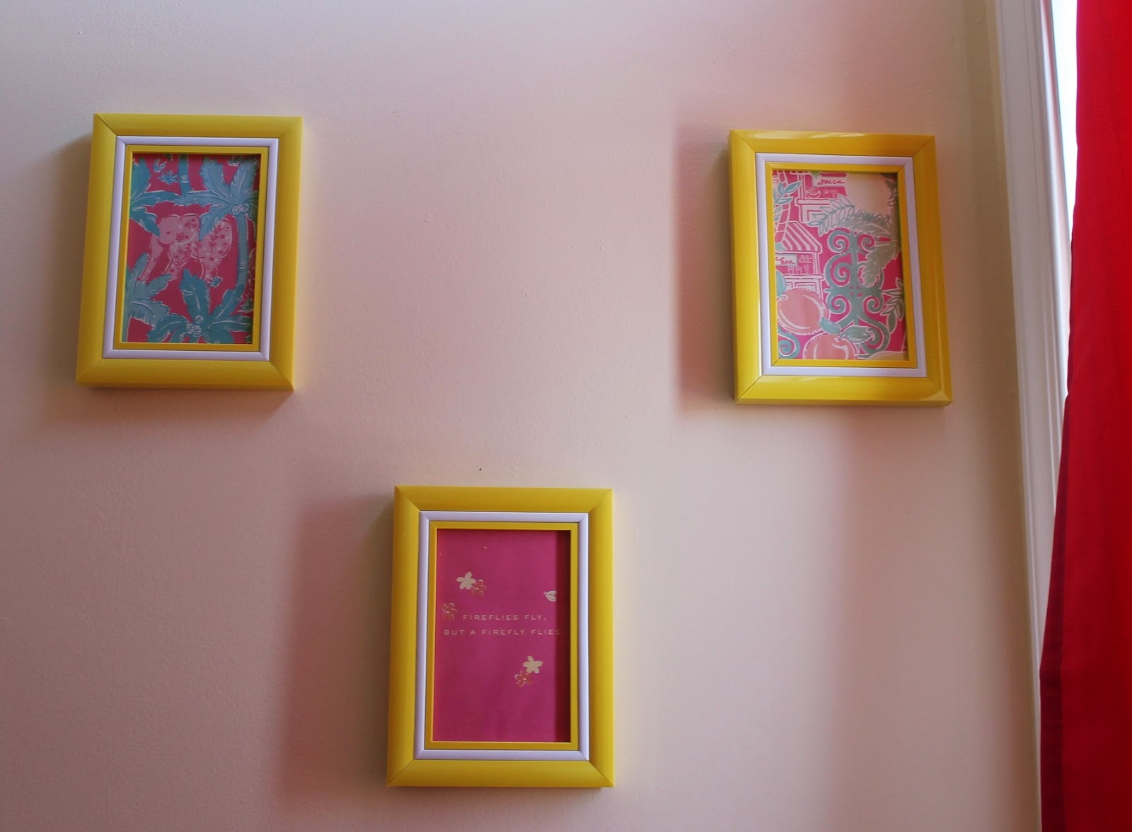 lilly pulitzer bathroom decor framed prints using agenda pages
