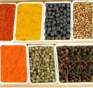 Spices and food