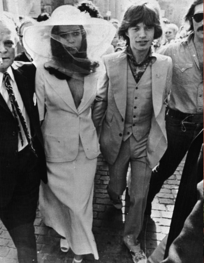 Mick Jagger Wedding