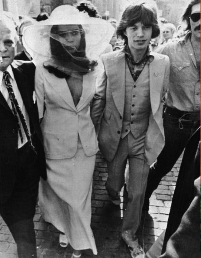 Mick Jagger Wedding