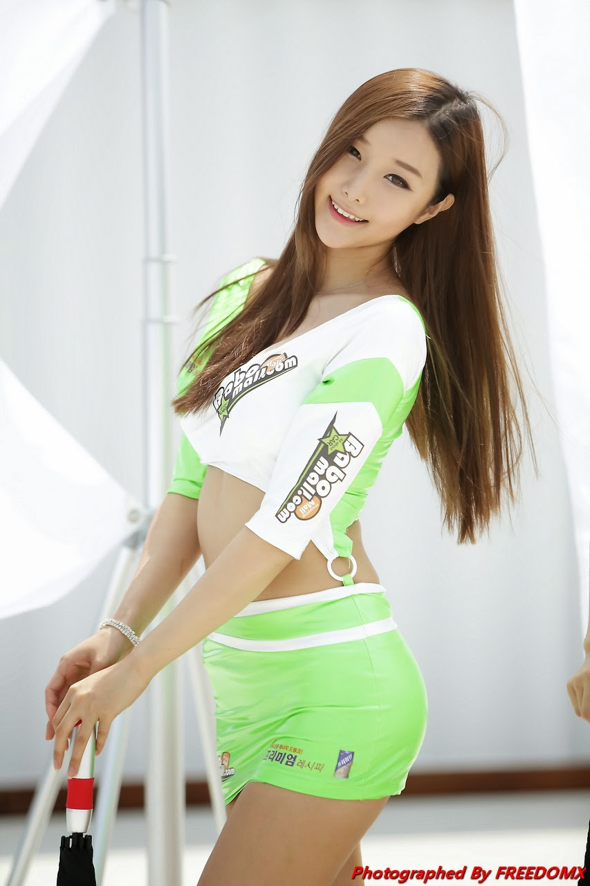 5 Han Song Yee - Korea Speed Festival 2014 - very cute asian girl-girlcute4u.blogspot.com