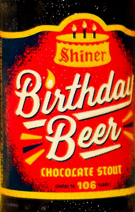 The Wine and Cheese Place: Shiner Birthday Chocolate Stout!