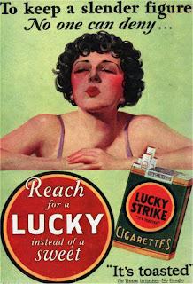 Lucky Strike to keep you thin