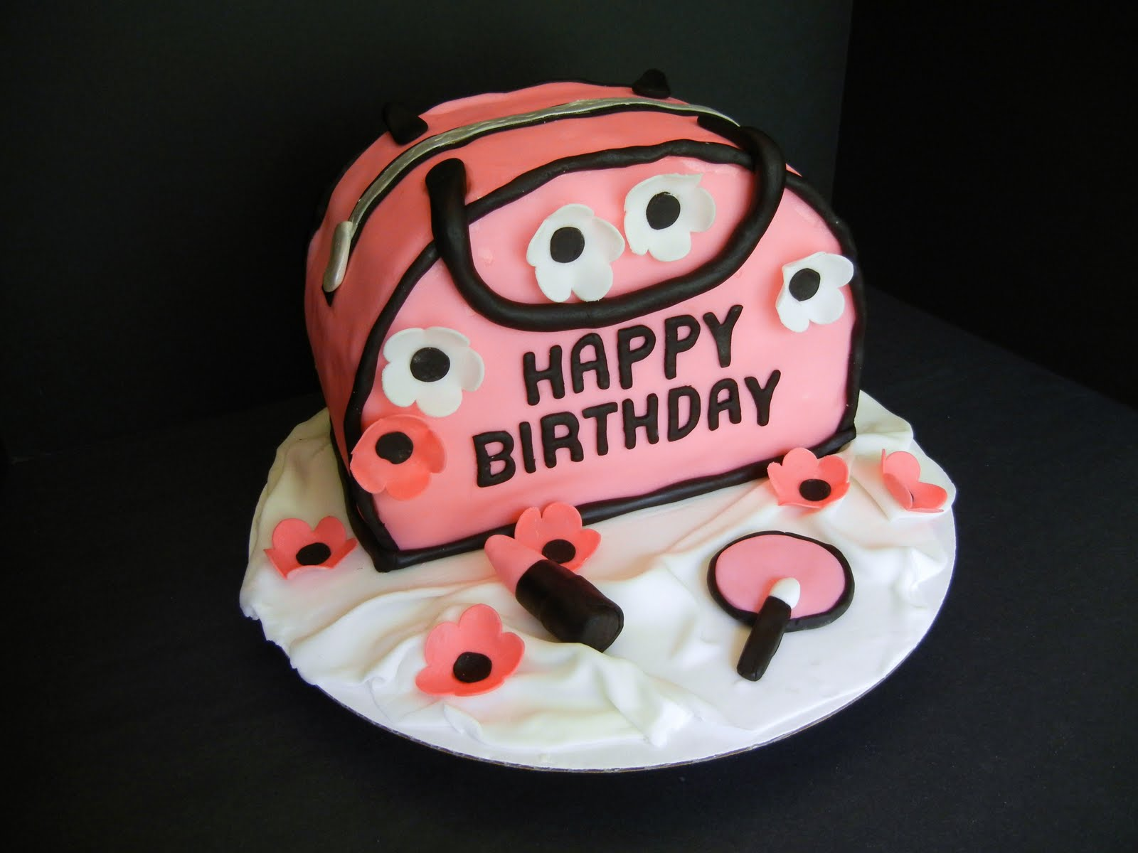 Striving For Confection Perfection Chic Purse Birthday Cake
