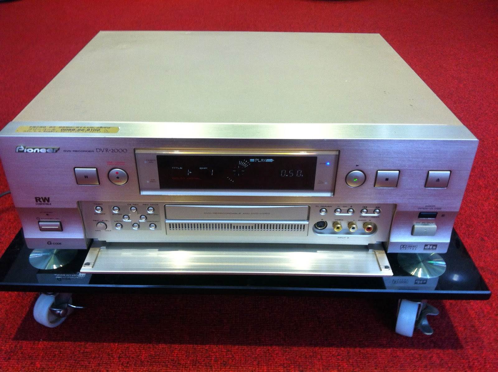 Đầu DVD Recorder - DVR-2000 - Made in Japan