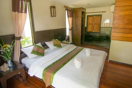 Double Bedroom of Family Bungalow
