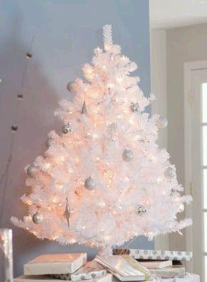 Arboles de navidad color blanco parte 2 - Arbol de navidad en blanco ...
