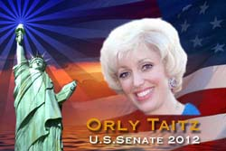 Orly Taitz For U.S Senate obama birth certificate birther kenya citizen