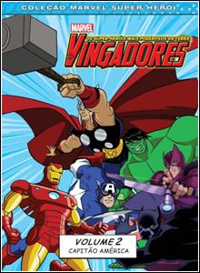 Download Os Vingadores Heróis Vol.2 Capitão America Dublado DVDRip 2012