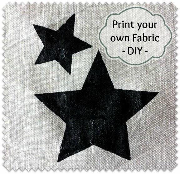 Sew Natural Blog: DIY - Zelf stof bedrukken