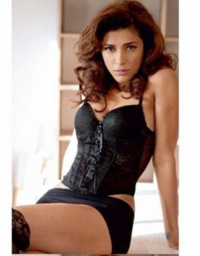 Shruti Hassan Hot :Shruti Hassan's Hot Photoshoot For Maxim Cover