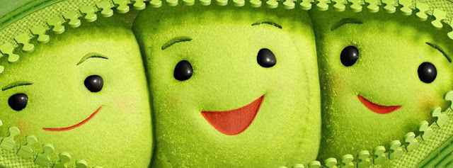 Green Smiley Cartoon