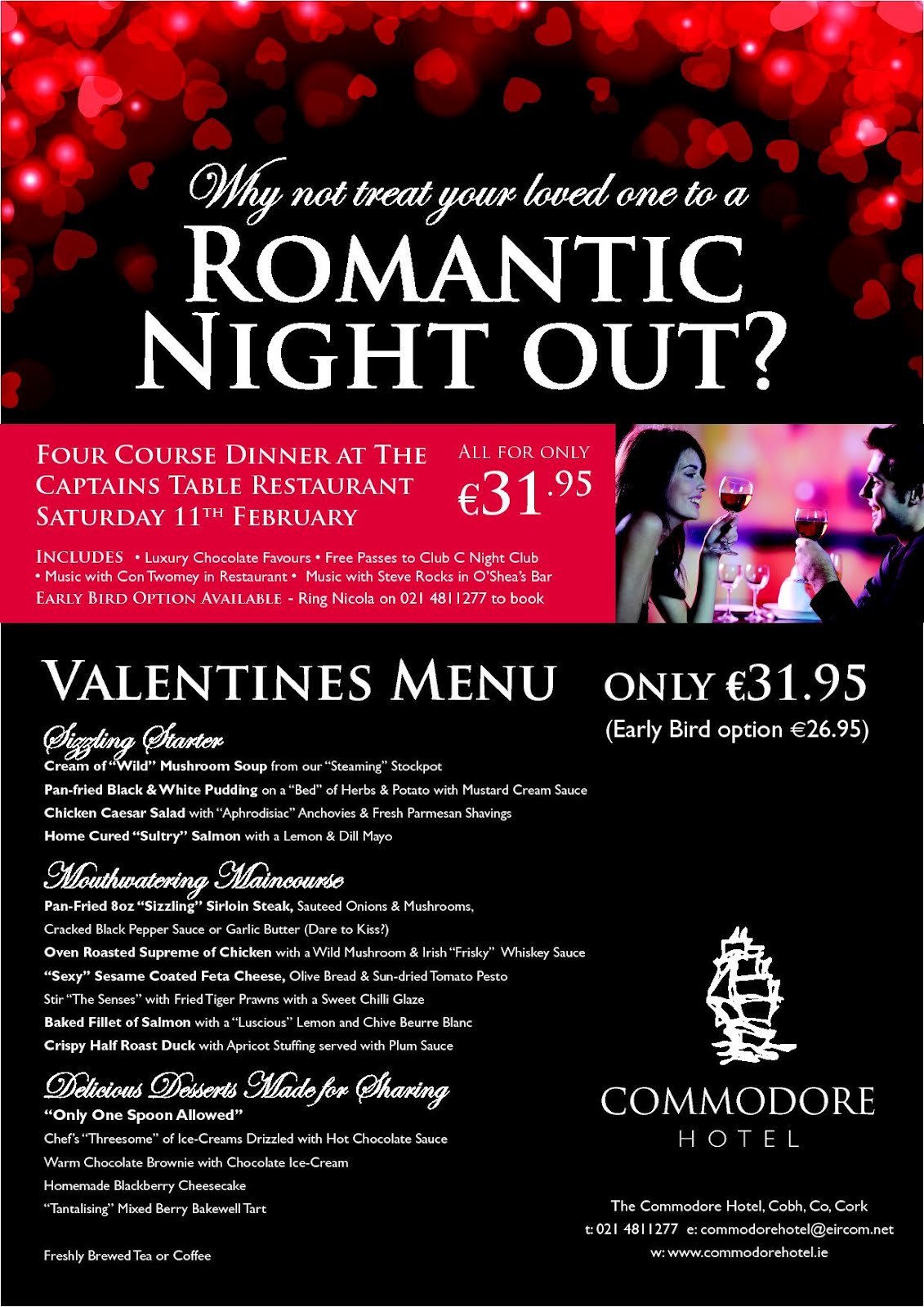 valentines night what have you planned for your better half - Valentine Day Hotel Specials