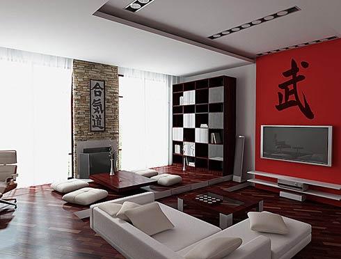 ruang keluarga yang luas