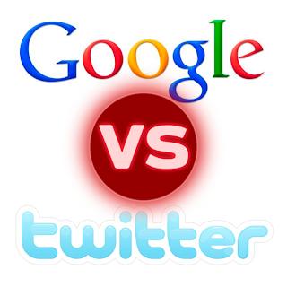Google VS Twitter