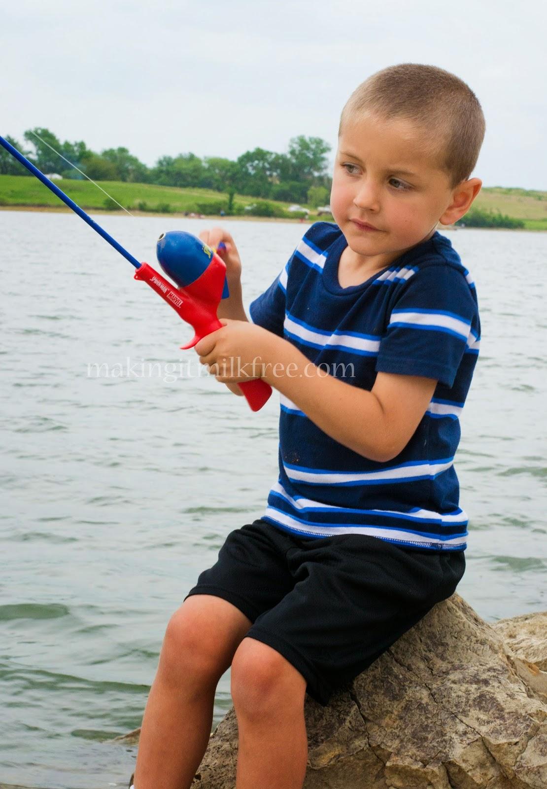 #camping #fishing #vacation #kids #kansas #lake