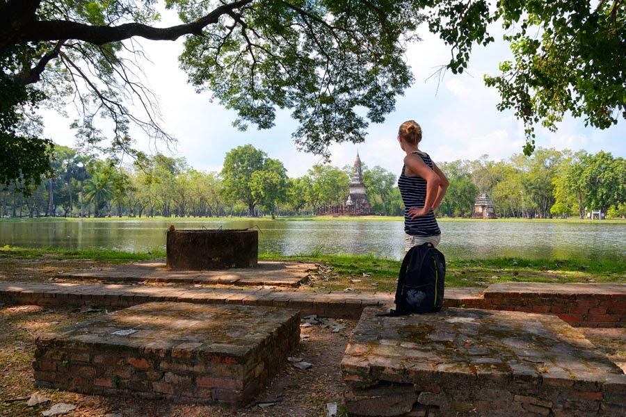 Wat TraPhang Ngoen, Sukhothai w Tajlandii