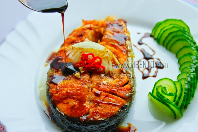 resep steak salmon segar