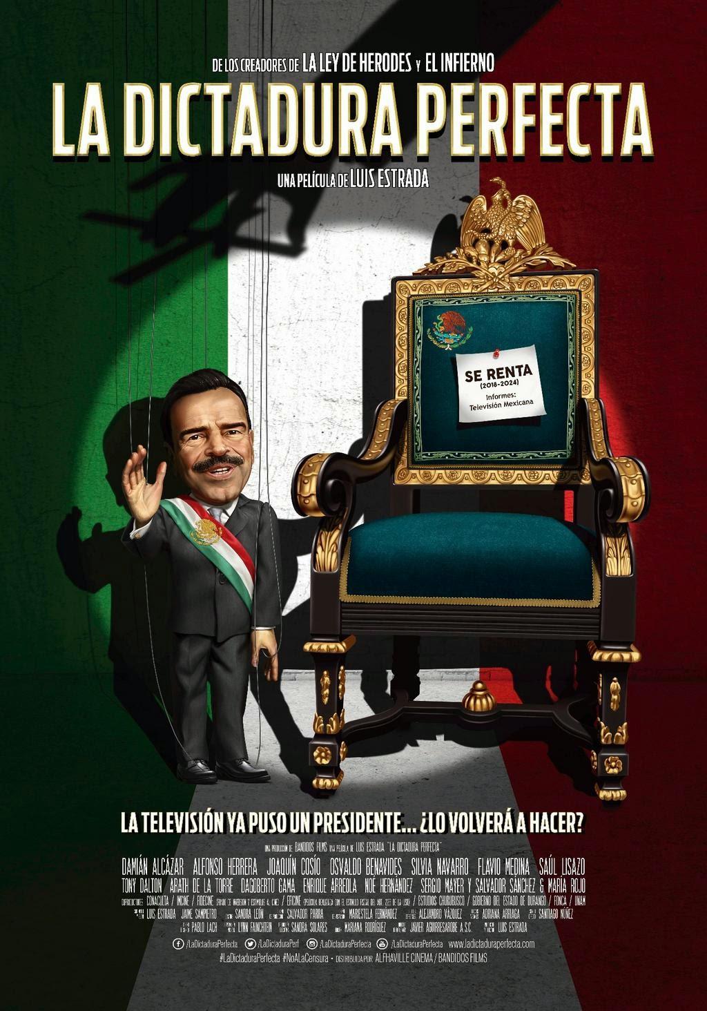 Poster de La Dictadura Perfecta
