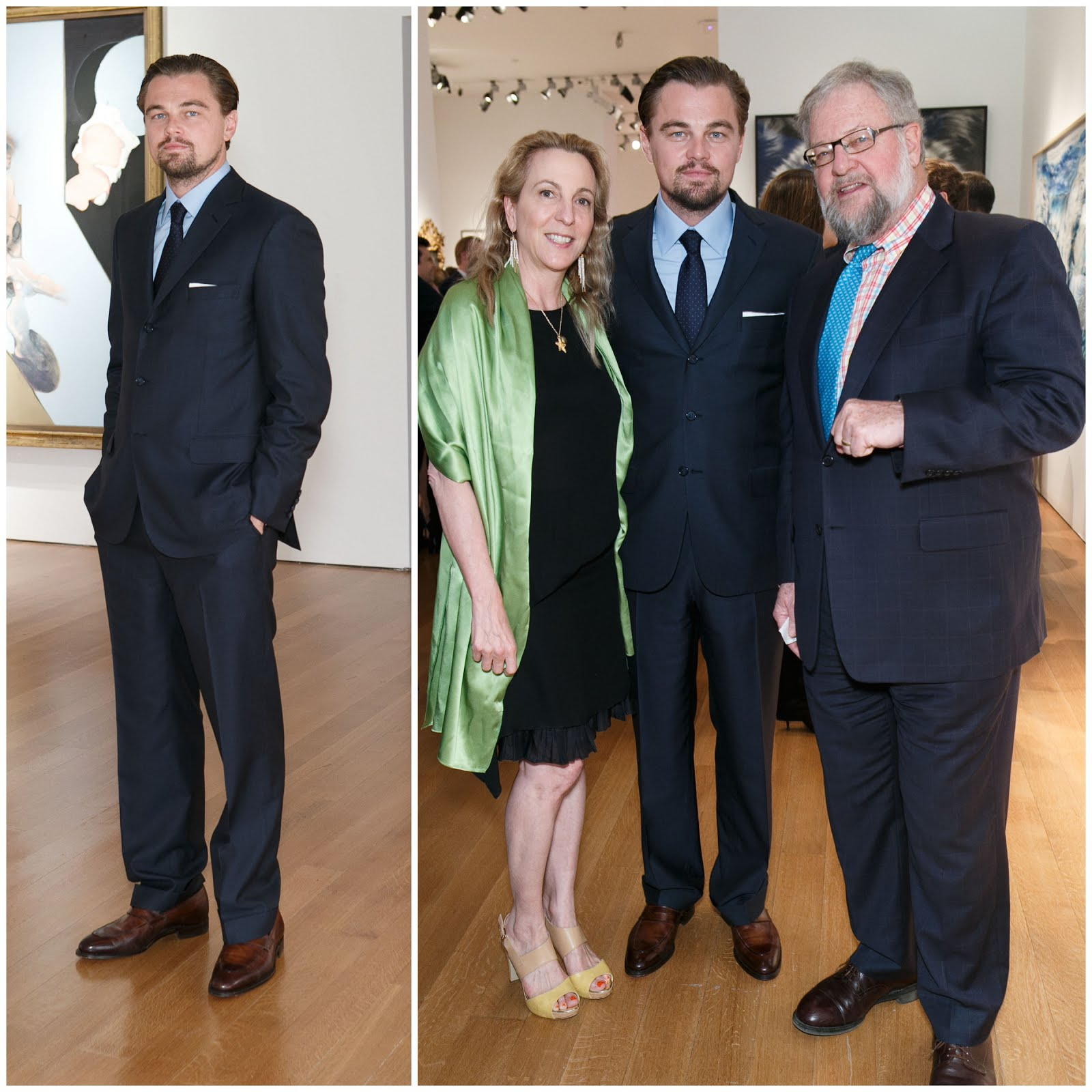 00O00 Menswear Blog: Leonardo DiCaprio in Brioni - 'The 11th Hour Charity Auction'