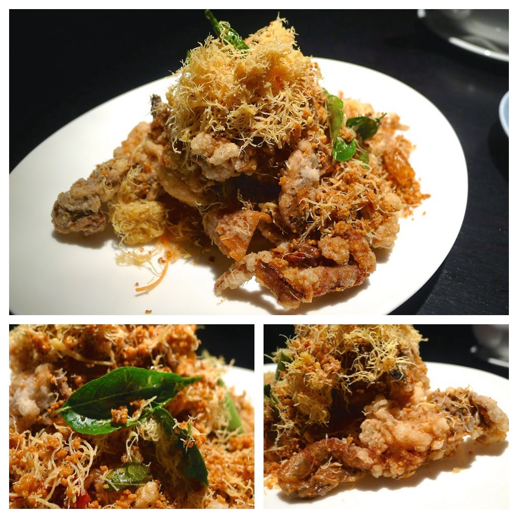 how to eat fried soft shell crab