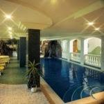 Hallenbad im Hotel Wiesnerhof
