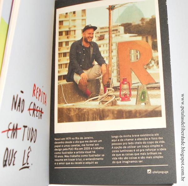 Resenha, livro, Sorria, você está sendo iluminado!, Felipe Guga, Galera Record, ilustrações, instagram, ofelipeguga, comprar, opinião