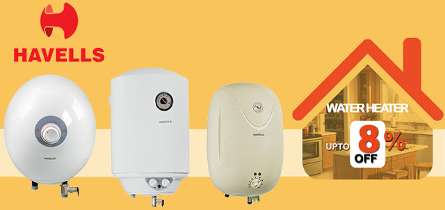 Where to buy Havells water heaters online | Pumpkart.com