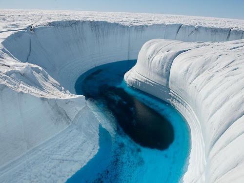O Cânion de Gelo da Groelândia