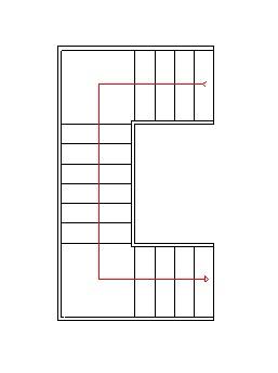 Publicado 23rd june 2012 por manuel mac as - Escaleras tres tramos ...