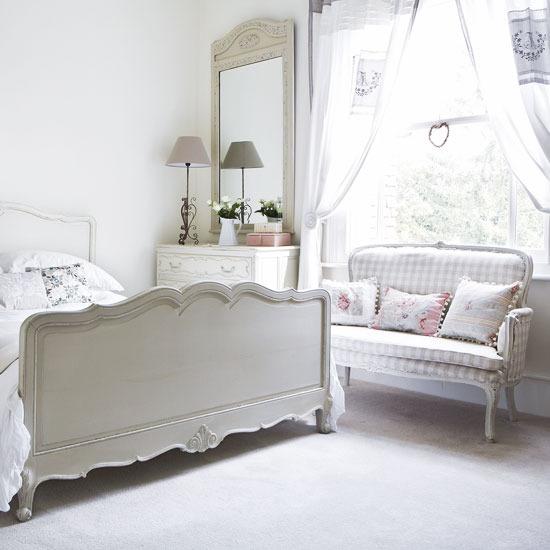 Habitaciones color blanco dormitorios con estilo for Habitaciones con muebles blancos